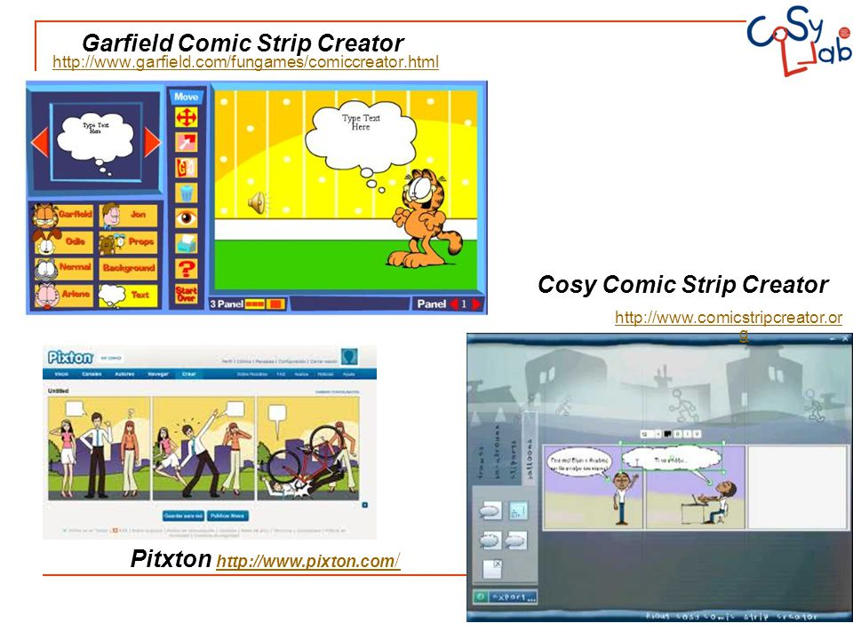 Garfield Comic Strip Creator Cosy Comic Strip Creator