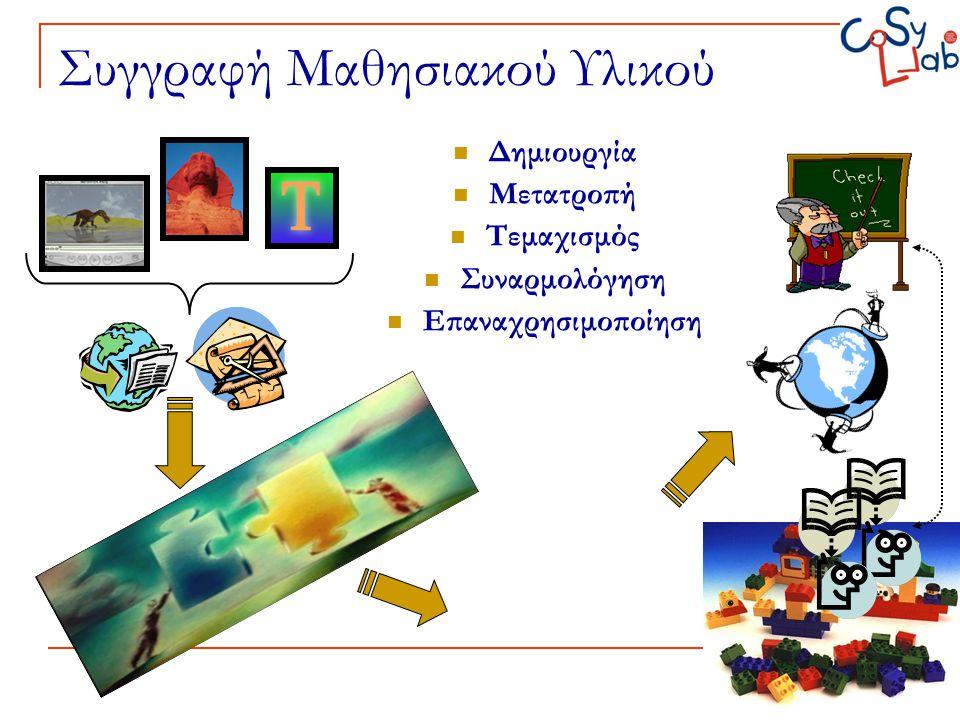 Συγγραφή Μαθησιακού Υλικού