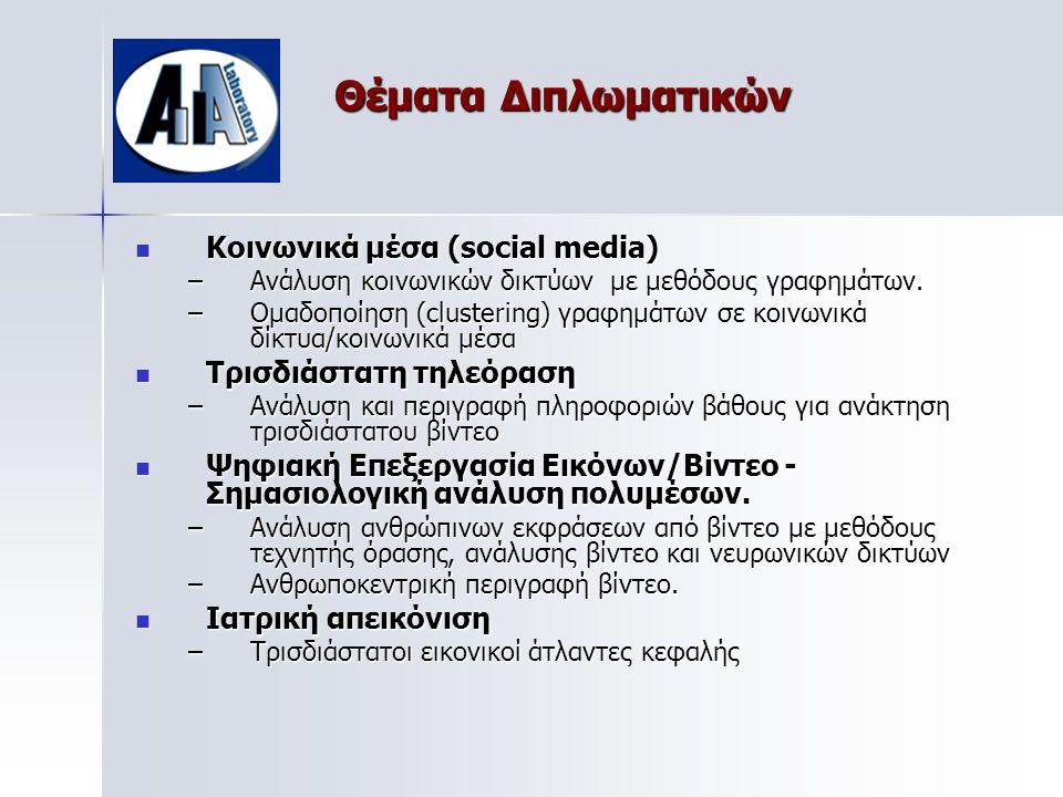 Θέματα Διπλωματικών Κοινωνικά μέσα (social media)