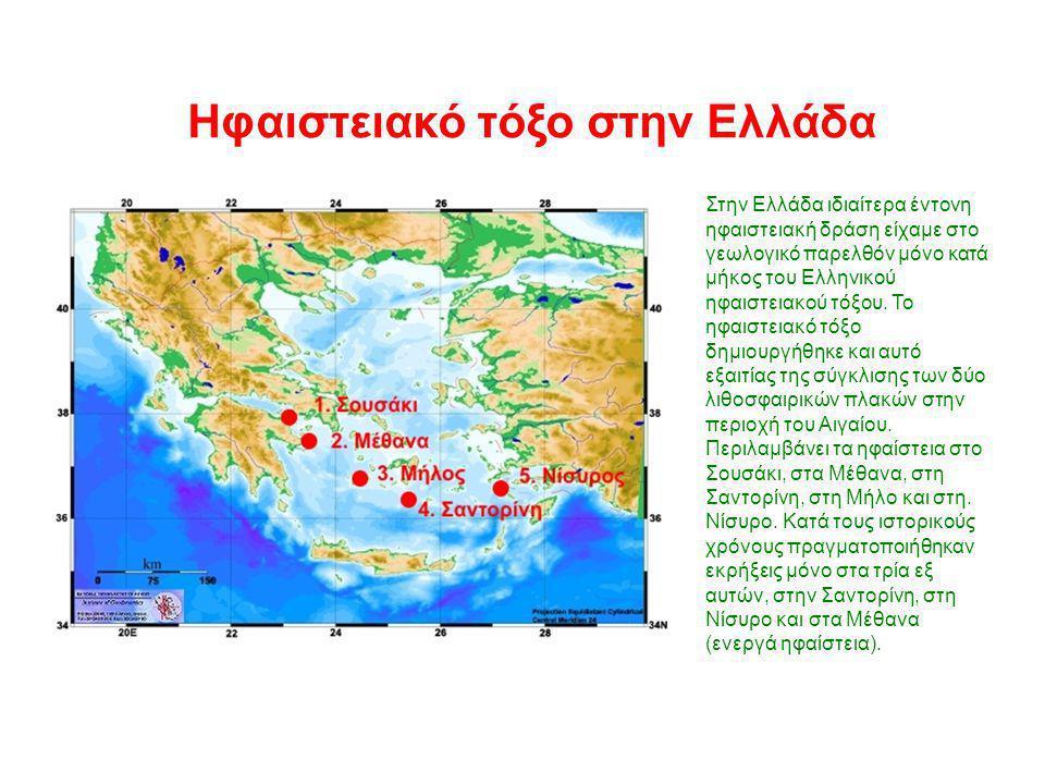 Ηφαιστειακό τόξο στην Ελλάδα