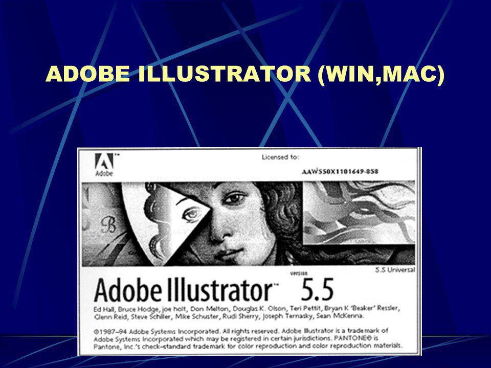ADOBE ILLUSTRATOR (WIN,MAC)
