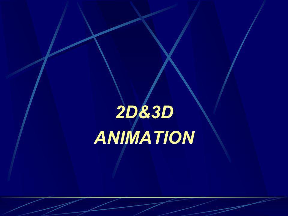 2D&3D ANIMATION