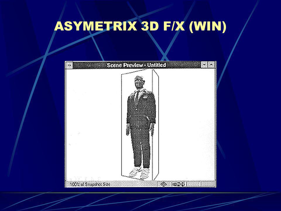 ASYMETRIX 3D F/X (WIN)