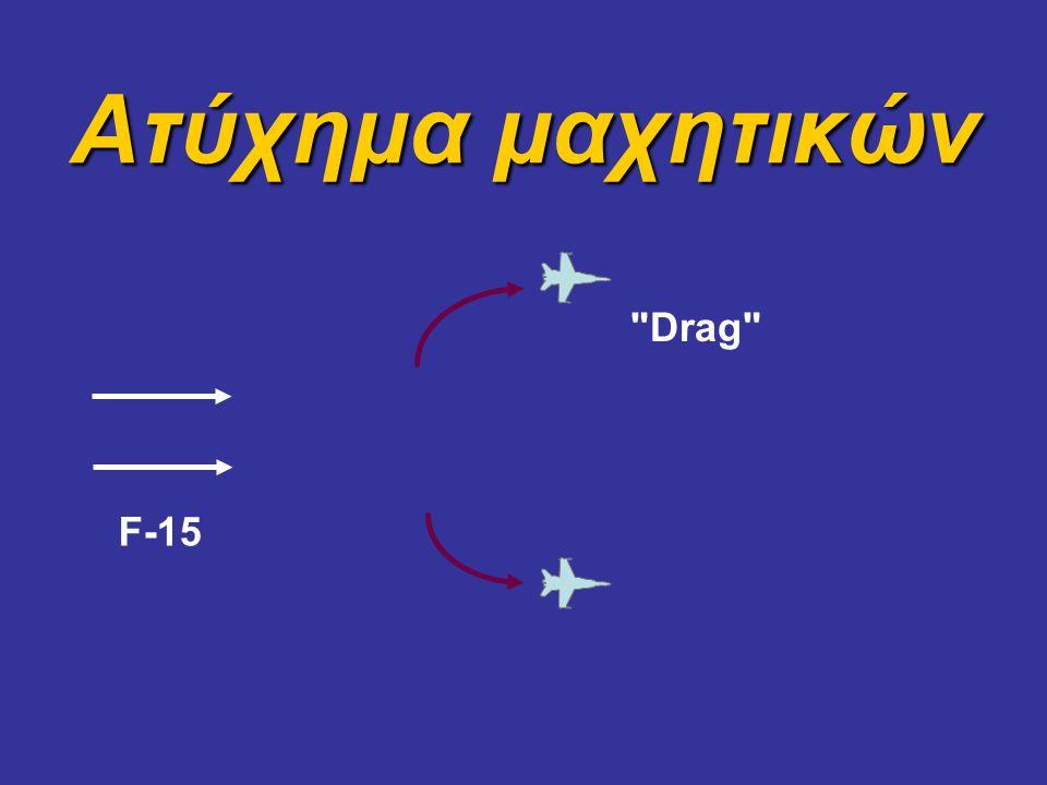 Ατύχημα μαχητικών Drag Εκτέλεσαν drag… F-15