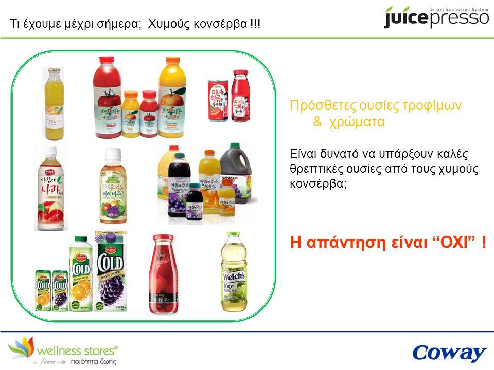 Η απάντηση είναι ΟΧΙ ! Πρόσθετες ουσίες τροφίμων & χρώματα