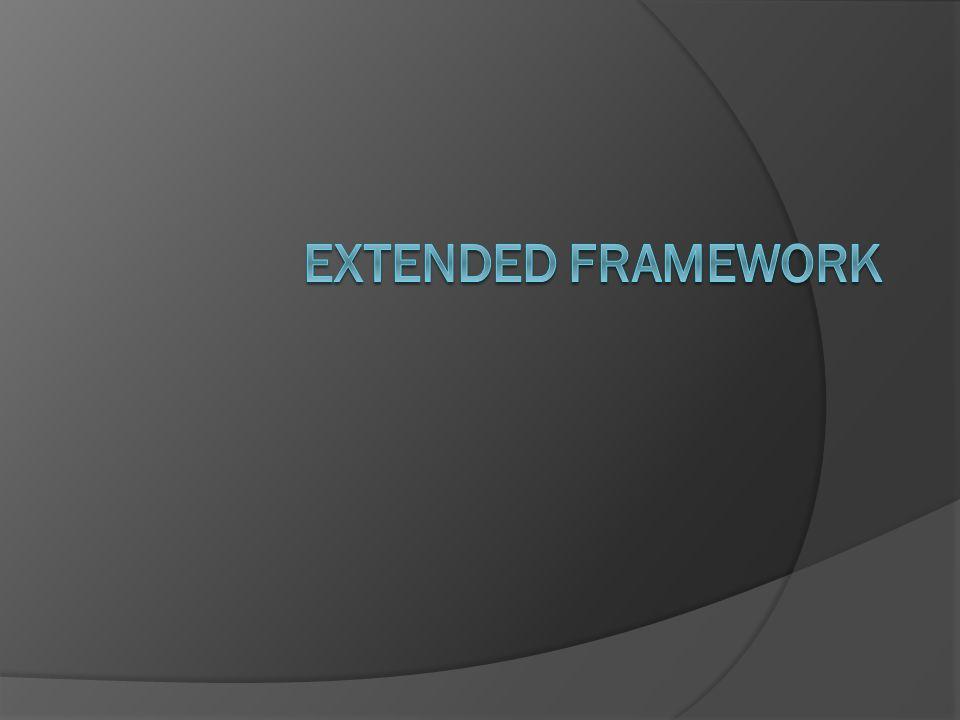 4/3/2017 9:57 AM Extended Framework