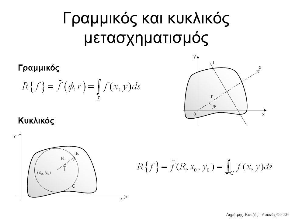 Γραμμικός και κυκλικός μετασχηματισμός