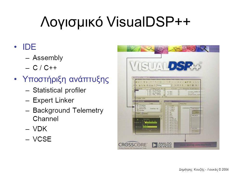 Λογισμικό VisualDSP++