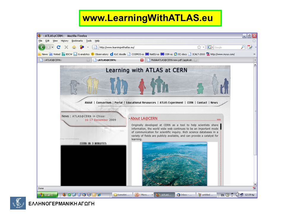 www.LearningWithATLAS.eu