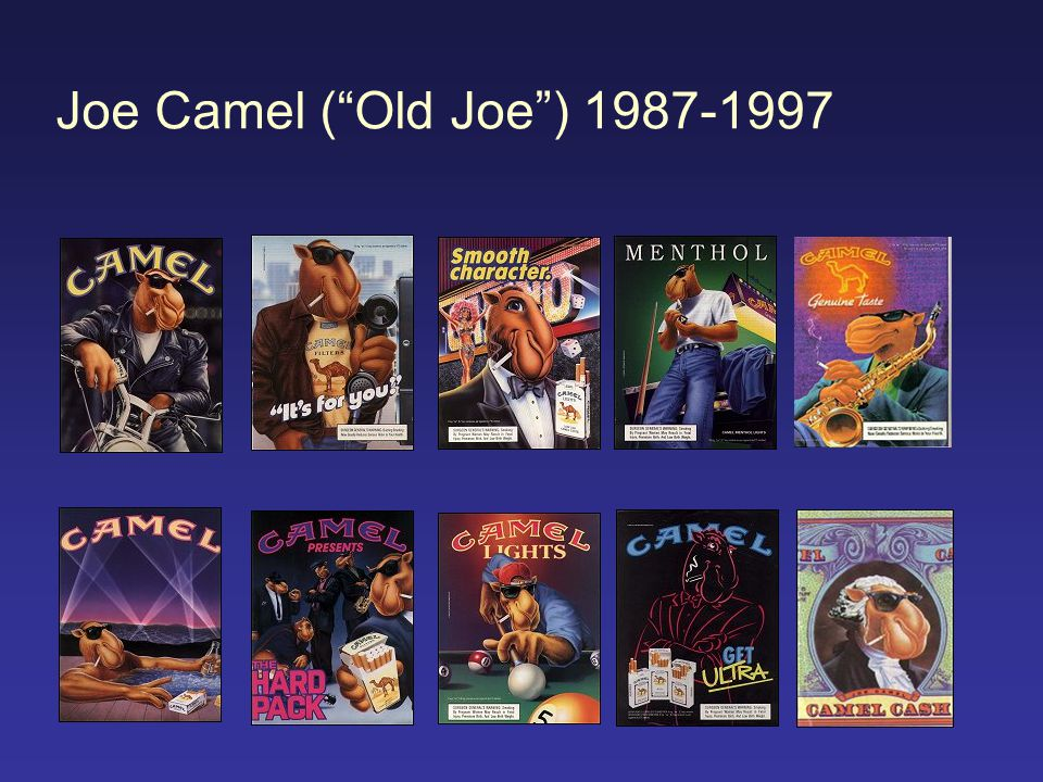 Joe Camel ( Old Joe ) 1987-1997