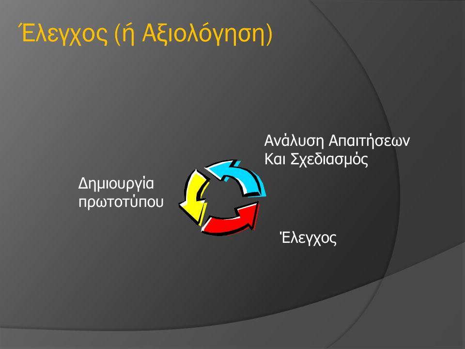 Έλεγχος (ή Αξιολόγηση)