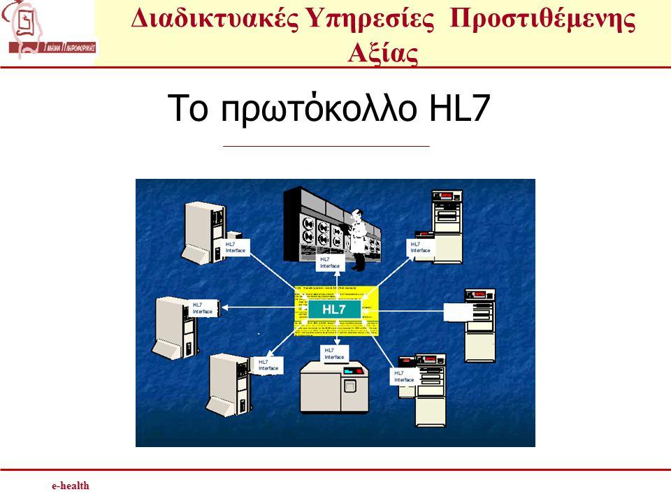 To πρωτόκολλο HL7