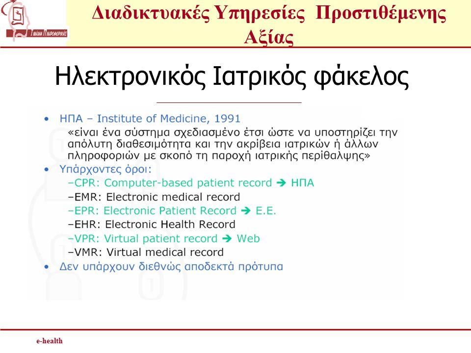 Ηλεκτρονικός Ιατρικός φάκελος