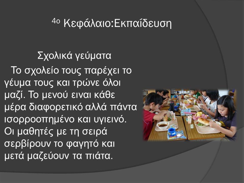 4ο Κεφάλαιο:Εκπαίδευση