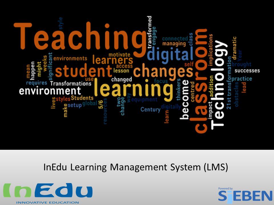 InEdu Learning Management System (LMS)