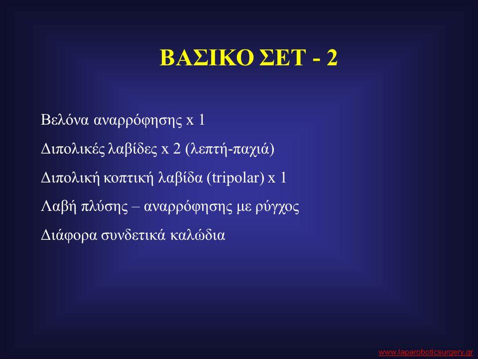 ΒΑΣΙΚΟ ΣΕΤ - 2 Βελόνα αναρρόφησης x 1