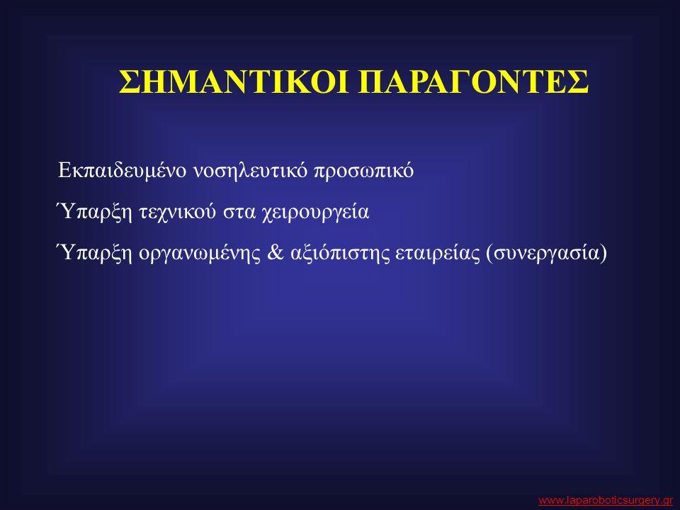 ΣΗΜΑΝΤΙΚΟΙ ΠΑΡΑΓΟΝΤΕΣ