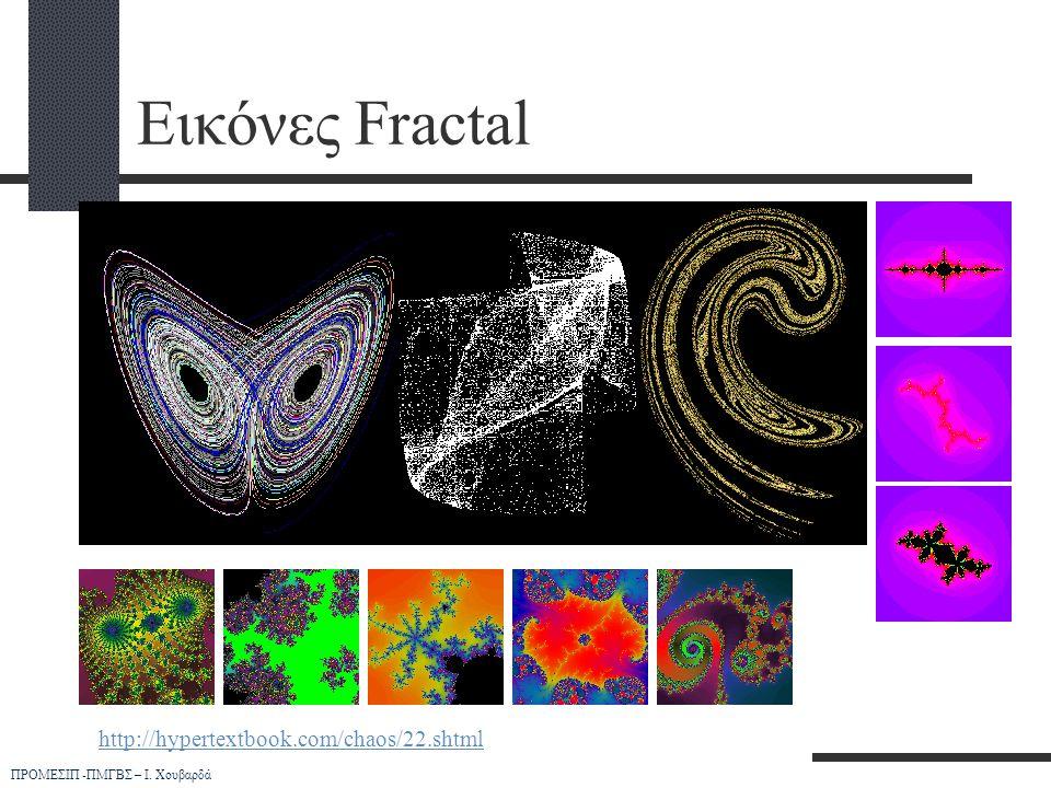 Εικόνες Fractal http://hypertextbook.com/chaos/22.shtml