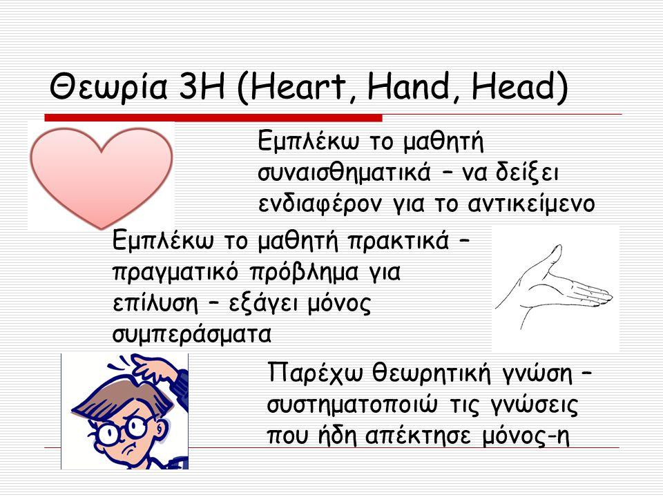 Θεωρία 3H (Heart, Hand, Head)