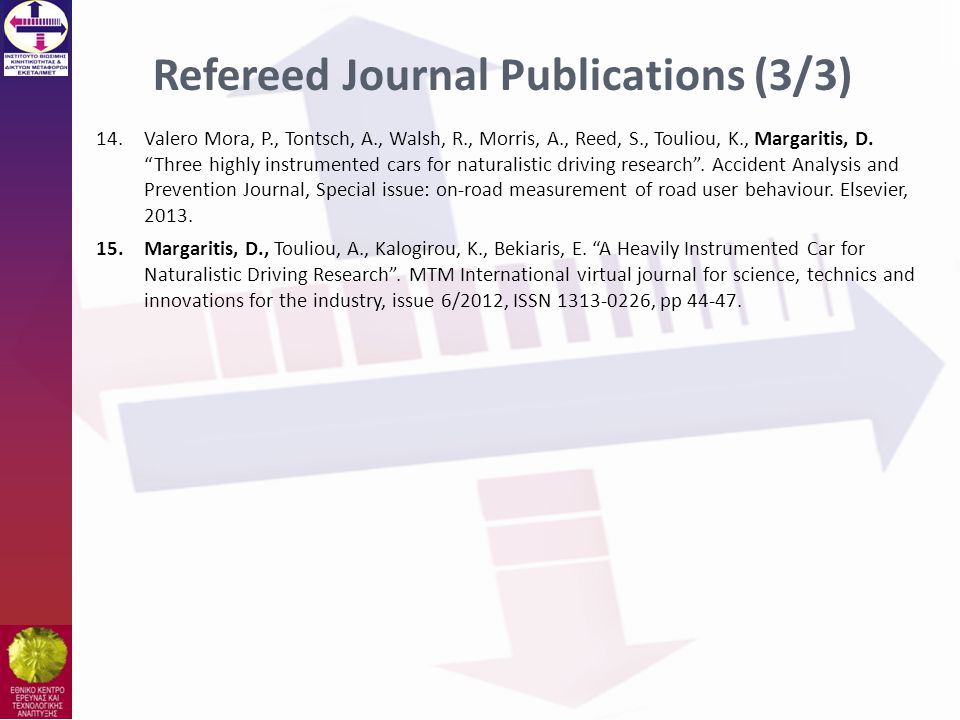 Refereed Journal Publications (3/3)