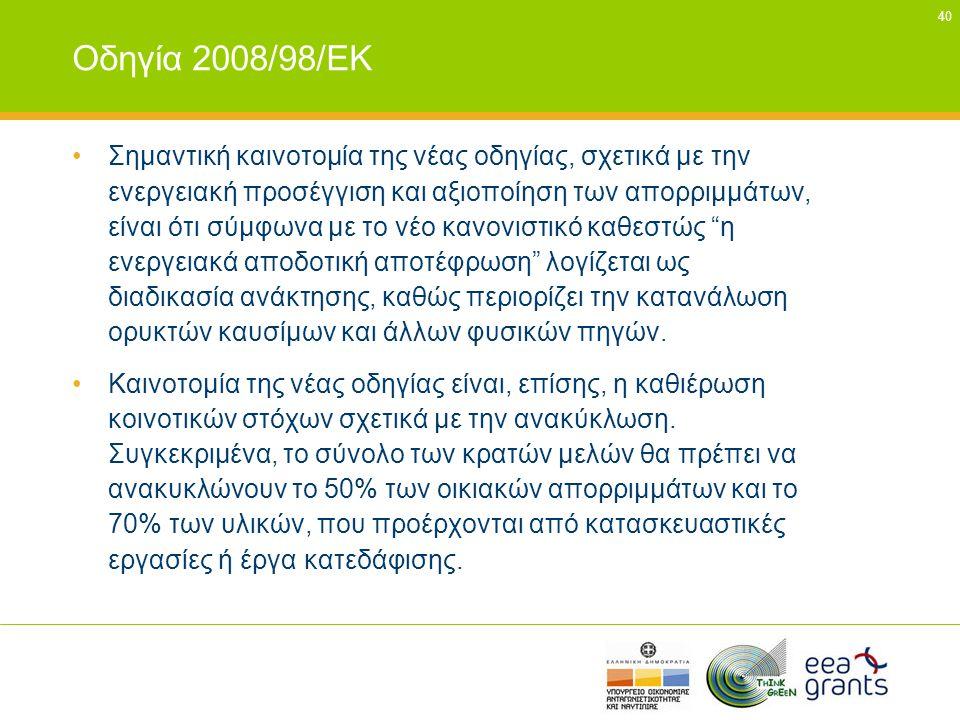 Οδηγία 2008/98/ΕΚ