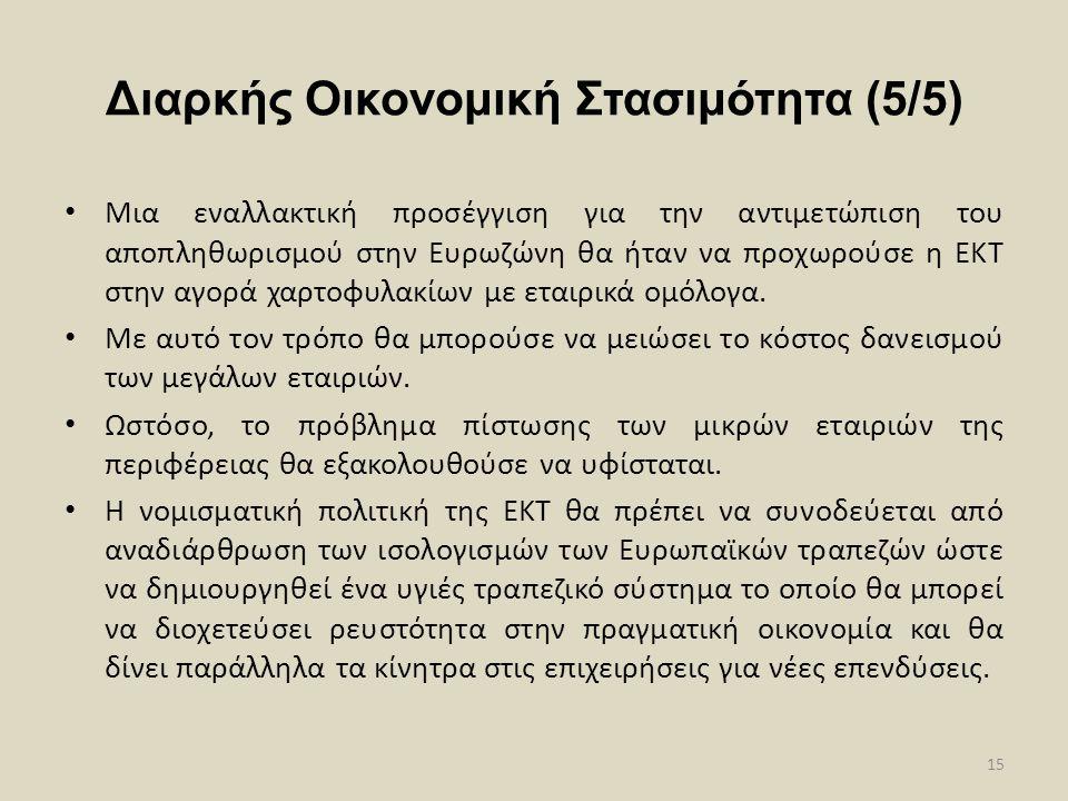 Διαρκής Οικονομική Στασιμότητα (5/5)