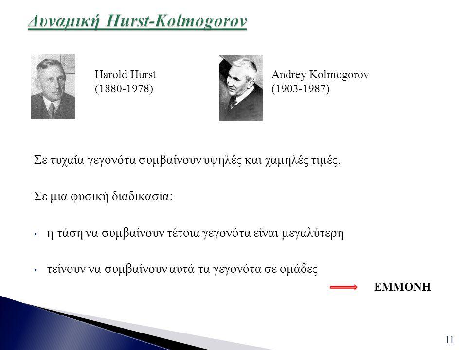 Δυναμική Hurst-Kolmogorov
