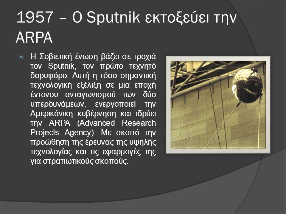 1957 – Ο Sputnik εκτοξεύει την ARPA