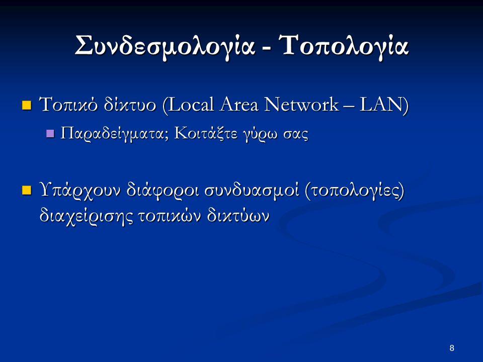 Συνδεσμολογία - Τοπολογία