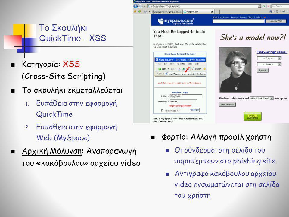 To Σκουλήκι QuickTime - XSS
