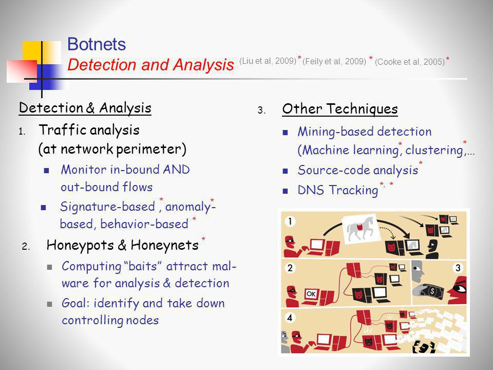 Botnets Detection and Analysis