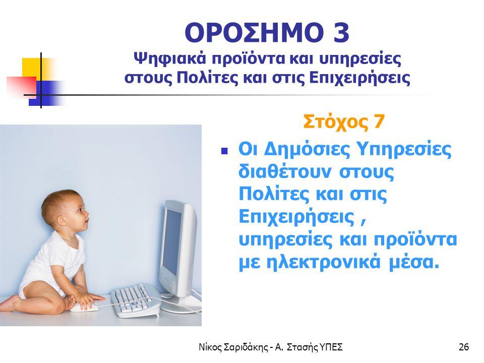 Νίκος Σαριδάκης - Α. Στασής ΥΠΕΣ