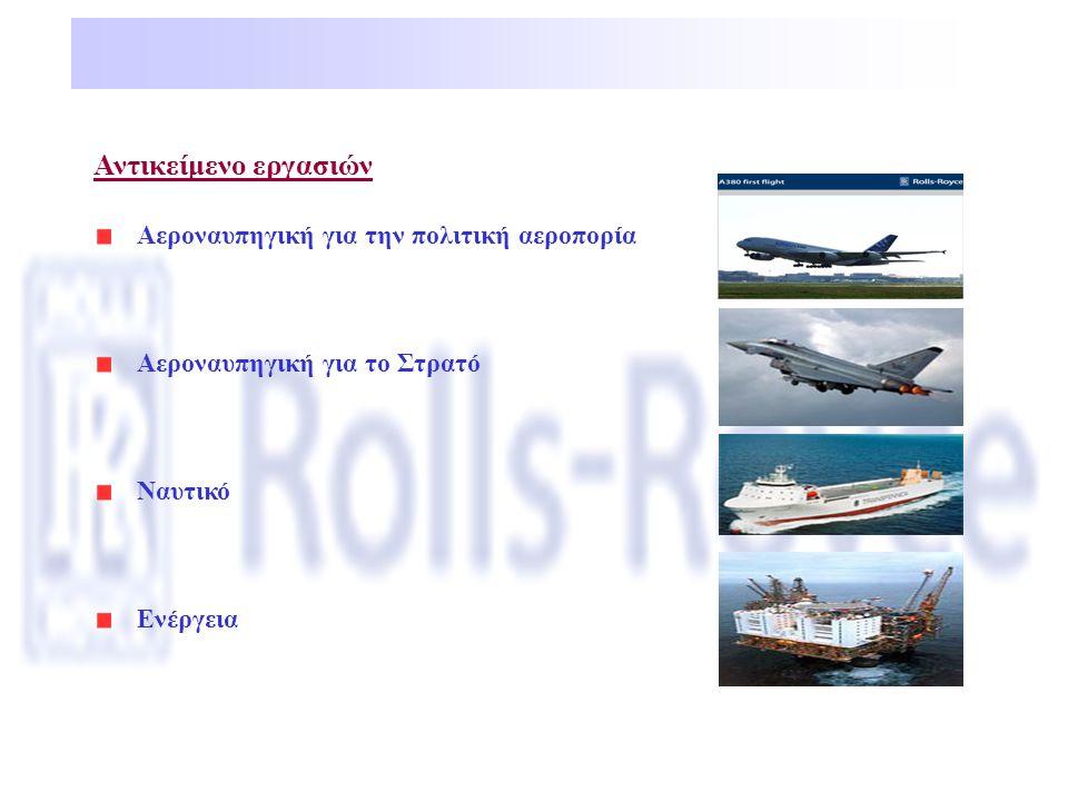 Αντικείμενο εργασιών Αεροναυπηγική για την πολιτική αεροπορία