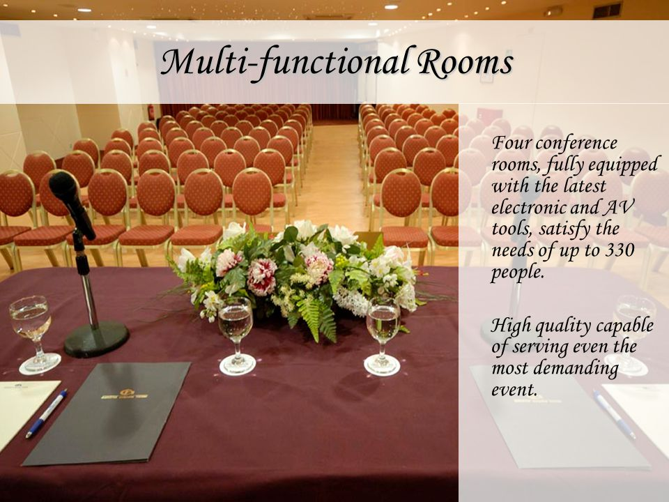 Multi-functional Rooms
