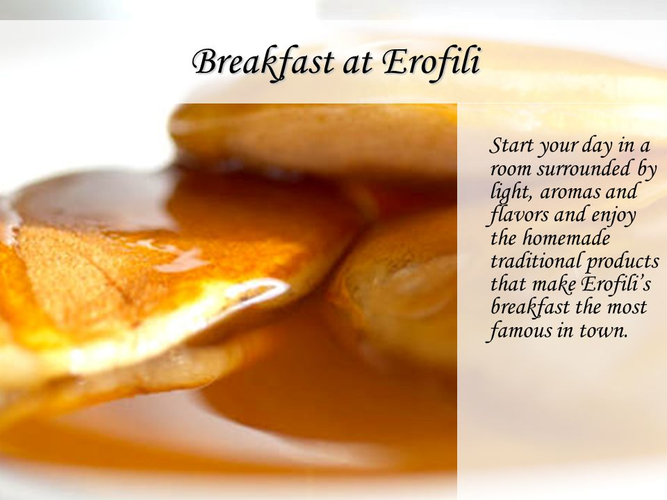 Breakfast at Erofili