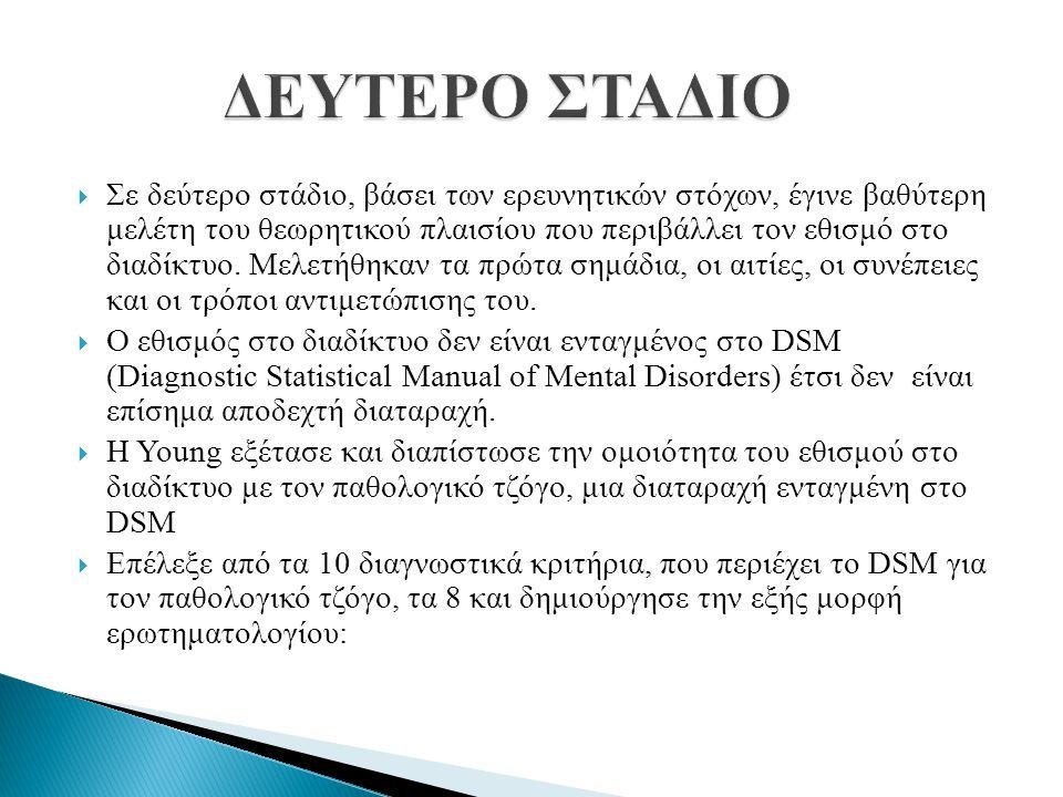 ΔΕΥΤΕΡΟ ΣΤΑΔΙΟ