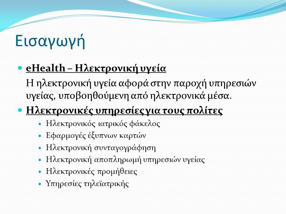 Εισαγωγή eHealth – Ηλεκτρονική υγεία