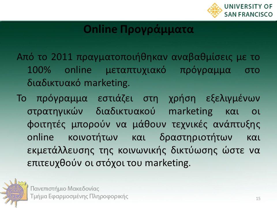 Online Προγράμματα