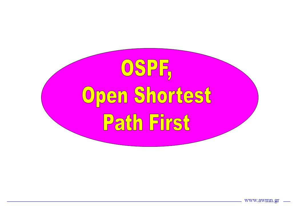 OSPF, Open Shortest Path First