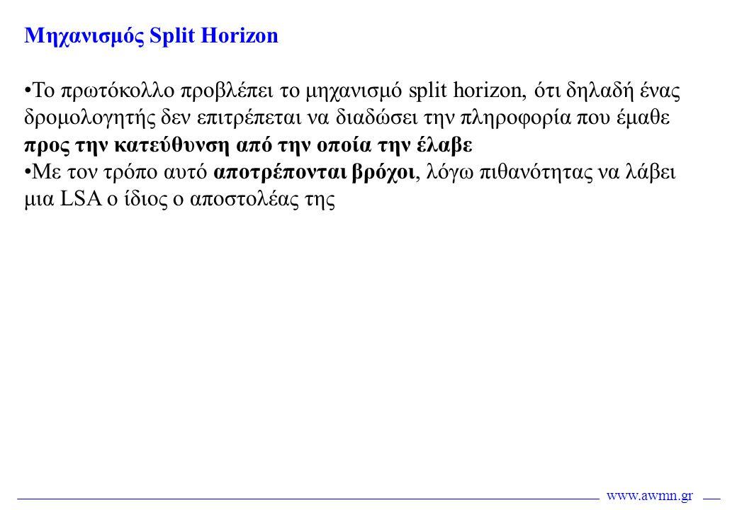 Μηχανισμός Split Horizon