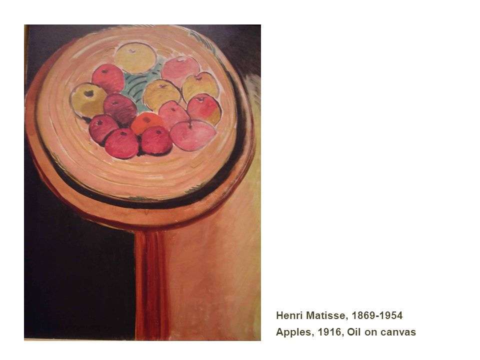 Henri Matisse, 1869-1954 Apples, 1916, Oil on canvas