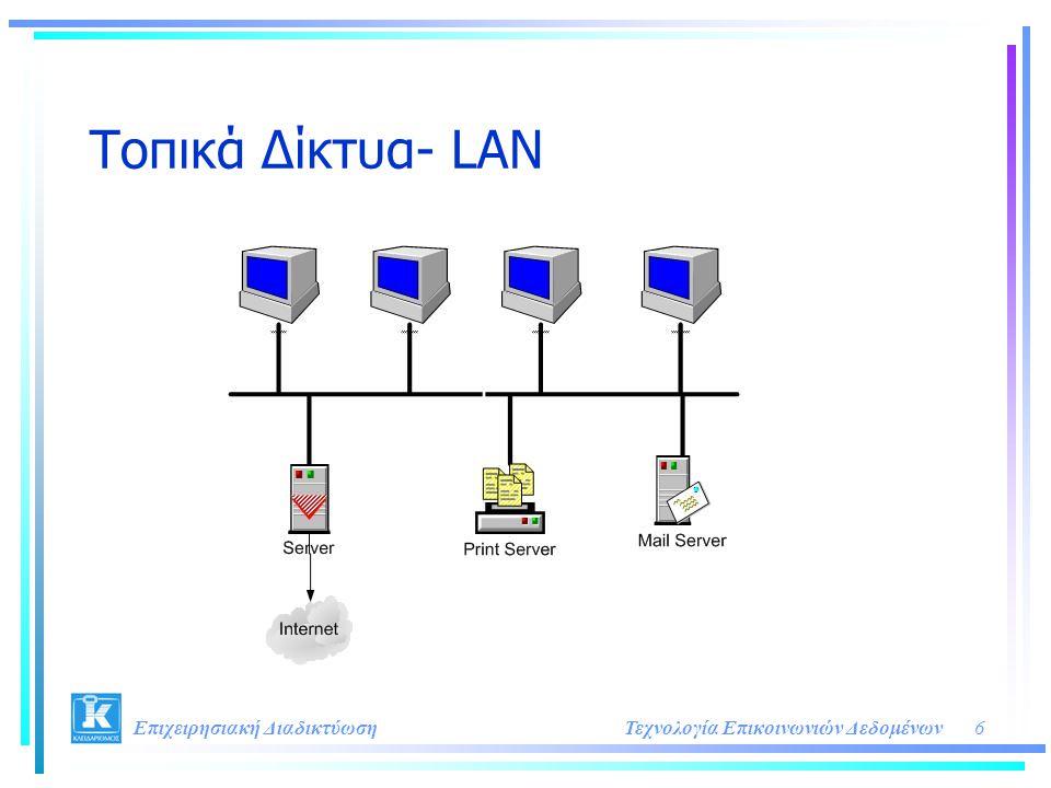 Τοπικά Δίκτυα- LAN Επιχειρησιακή Διαδικτύωση