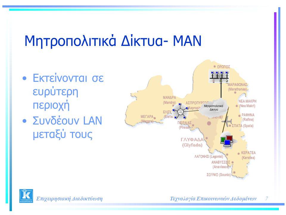 Μητροπολιτικά Δίκτυα- MAN