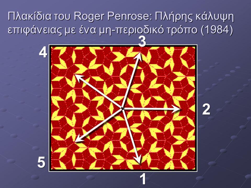Πλακίδια του Roger Penrose: Πλήρης κάλυψη επιφάνειας με ένα μη-περιοδικό τρόπο (1984)