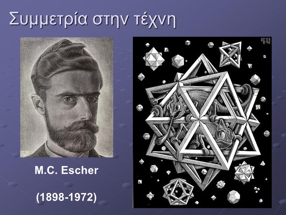 Συμμετρία στην τέχνη M.C. Escher (1898-1972)
