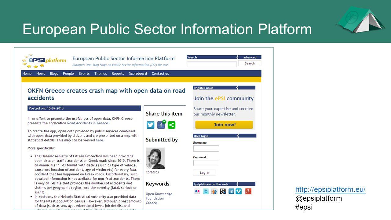 European Public Sector Information Platform