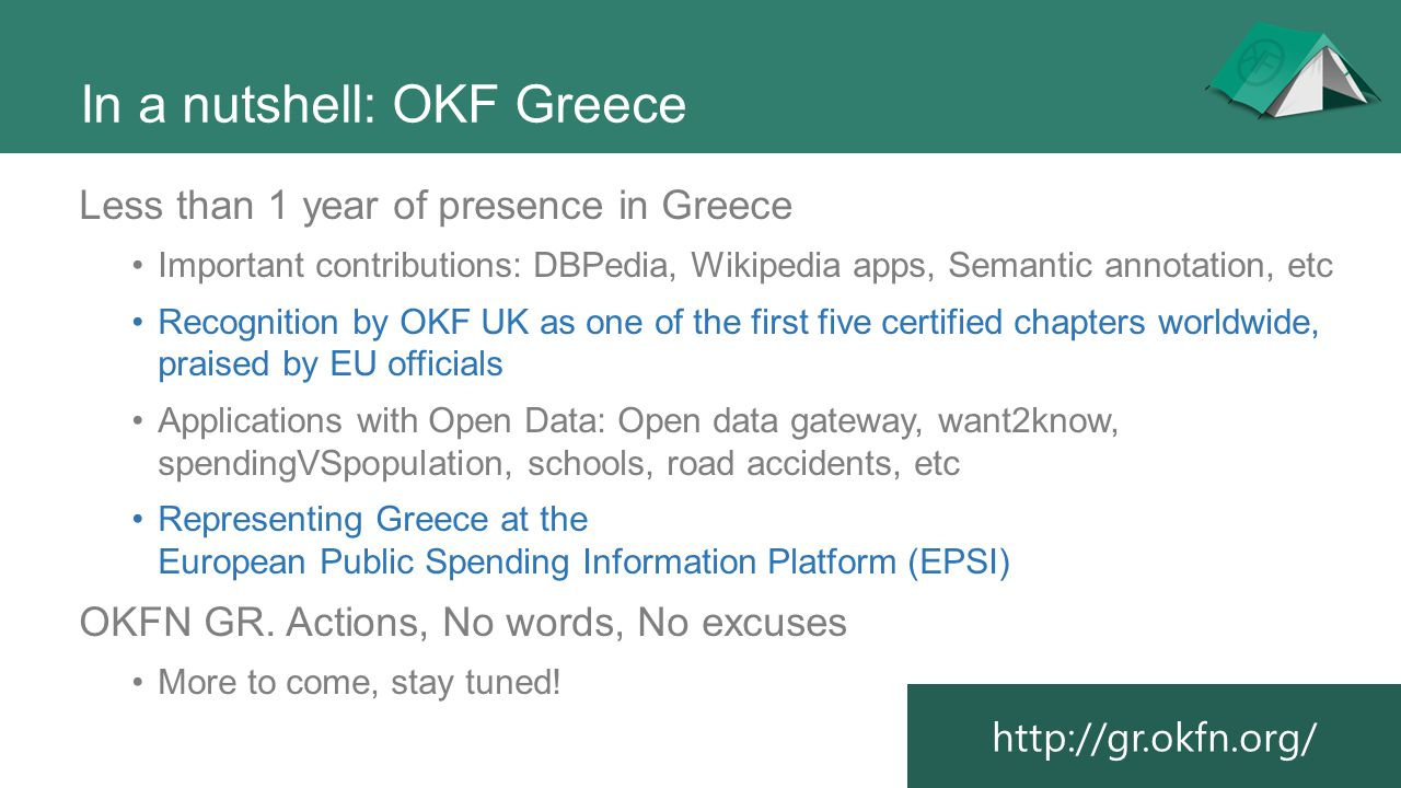 In a nutshell: OKF Greece