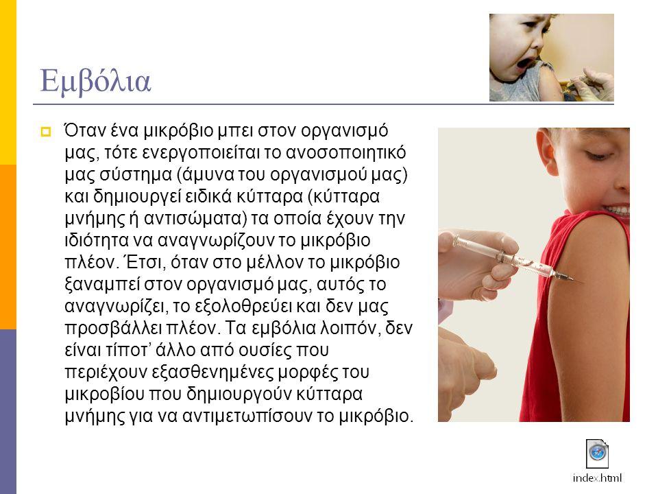 Εμβόλια