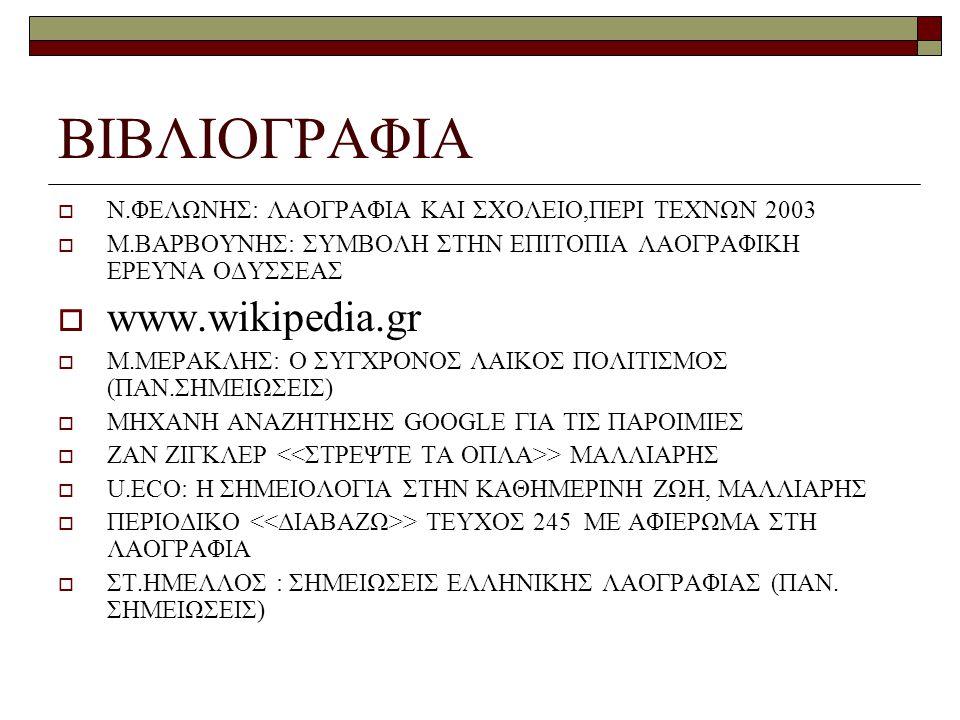 ΒΙΒΛΙΟΓΡΑΦΙΑ www.wikipedia.gr