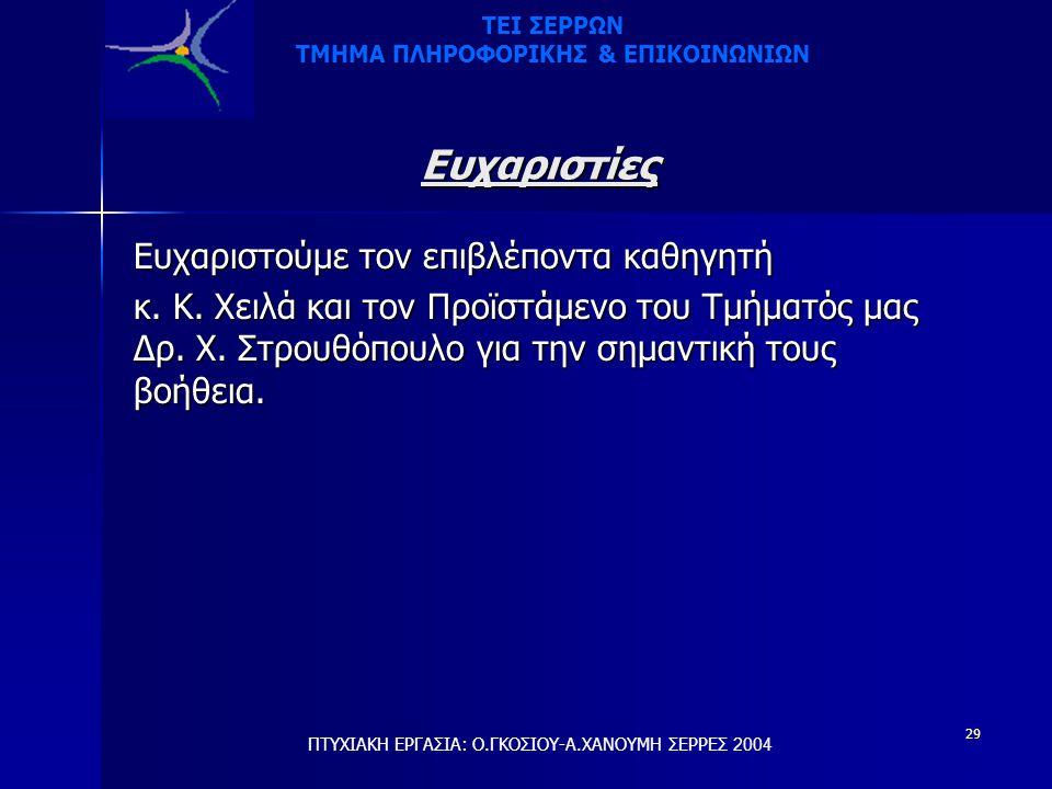 ΤΜΗΜΑ ΠΛΗΡΟΦΟΡΙΚΗΣ & ΕΠΙΚΟΙΝΩΝΙΩΝ